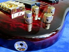 Spector Legend 4 Custom – controls
