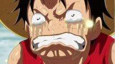 Luffy when Marry dies