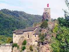 Ambialet • Les ruines du château • octobre 2012