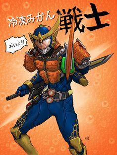 Kamen Rider Gaim reitomikan ver by metalheadkomik.deviantart.com on @deviantART