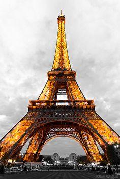 Paris Eiffel Tower by Zeeyolq Photography on Flickr.