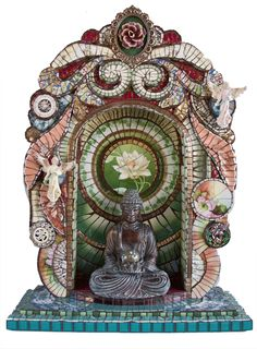 Buddha Shrine by Susan Weschler