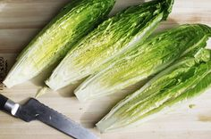How to Make a Grilled Romaine Salad with Creamy Anchovy Dressing