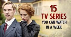 15 amazing TV series you can watch in a week