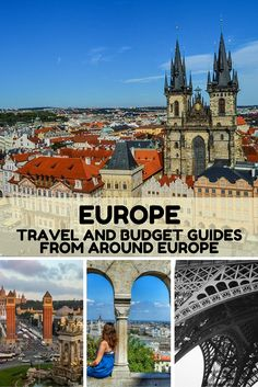 Europe: Our Collection of travel and budget articles from Around Europe. Including France, Spain, the Czech Republic, Germany, Romania, Greece, the United Kingdom, and Ireland. By Just a Pack