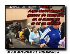 Aqui @lopezobrador_ derrochando gastos @IFEMexico debe desaparecer! @leonardovaldesz Via PENDEJO DE MEXICO @EPN  #MORENA