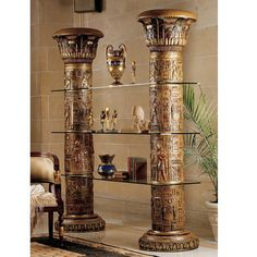 FREE SHIPPING! Shop Wayfair for Design Toscano Egyptian 82 Bookcase - Great Deals on all Furniture products with the best selection to choose from!
