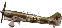 Hawker Tempest V 33Sqn