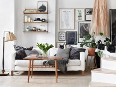 If there's one thing the Swedes know, it's design – and how spruce up a small space to make it look like something out of the pages of Wallpaper. It doesn't matter if your apartment is the size of a shoe box...
