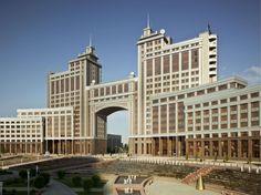 KazMunayGas, Astana, Kazakhstan (Archi post-soviétique)