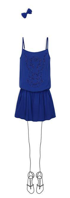 Bleu électrique#So'teen#SS2014
