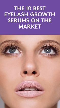 The 10 Best Eyelash Growth Serums On the Market   Achieving longer, fuller lashes without extensions or falsies may seem too goo to be true, but if you want lengthier lashes that are the real deal, it is possible with a lash growth serums. These products are packed with conditioning peptides and fatty acids to stimulate and promote growth. The best part: they're pretty simple to apply, too. Here, we've rounded up the best serums that will help you get the long lashes of your dreams.