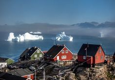 Houses in Uummannaq