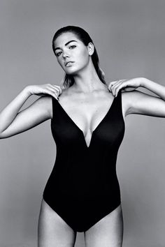 Kate Upton On Body Image, Weight, Being A Role Model (Vogue.com UK)