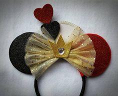 Reina de corazones inspirado orejas de Minnie por MakeMeMinnie