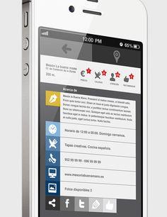 APP IPHONE TAPAS DE MÁLAGA - SPAINCREATIVE  iOs App