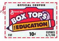 KDS stopped using box tops in June 2016. Members can donate box tops to local schools. Original text: Remember to save those Box Tops to give to the DAR schools!  LHHL chapter members can bring box tops to meetings or give to officers listed in the yearbook. The chapter collects pink box tops from General Mills products.
