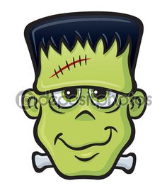 cute halloween monster clip art | Cute Frankenstein ...