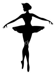 Ballerina silhoutte