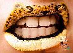ONG Conservação Internacional: Lipstick, Jaguar