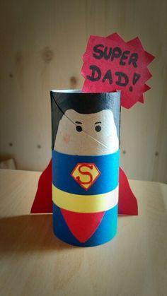 Süße Idee für jeden Vater zum Geburtstag oder zum Vatertag !! ❤ ganz einfach aus einer Papierrolle basteln