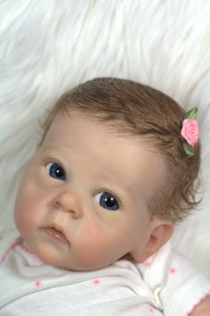 Reborn Baby Girl (Or Boy!) From Saoirse by Bonnie Brown-Sold Out Sculpt-Lt'd Ed By Award Winning Artist Kimberly McClung Reborn Toddler Dolls, Reborn Baby Girl, Reborn Dolls, Reborn Babies, Lifelike Dolls, Realistic Dolls, Cute Baby Dolls, Cute Babies, Life Like Babies