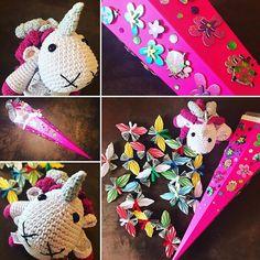 """""""Einschulung kann starten!🤗🤗🤗 #einschulung #schultüte #zuckertüte #einhorn #unicorn #doityourself #schmetterling #butterfly #geldgeschenk #flowers #ladybird #großcousine  #family #familyfirst #familytime #awesome #mylove #mylife #instagood #goodvibes #berlin #brandenburg @serpil_pue #thankful for your #handmade"""" by @kupferblond007. #ganpatibappamorya #dilsedesi #aboutlastnight #whatiwore #ganpati #ganeshutsav #ganpatibappa #indianfestival #celebrations #happiness #festivalfashion…"""