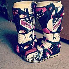 Fox boots girls Pink beautiful