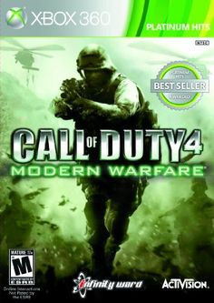 Amazon.com: Call of Duty 4: Modern Warfare - Game of the Year Edition: Xbox 360: Video Games Doesn't matter if it is game of the year edition or not