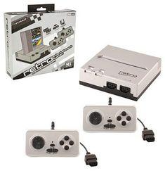 Retro Bit Nintendo NES Entertainment System Silver/Black * For more information, go to image link. (This is an affiliate link). Classic Nes Games, Retro Nes, Nes Console, Gaming Memes, Entertainment System, 8 Bit, Super Mario Bros, Nintendo Consoles, Videos