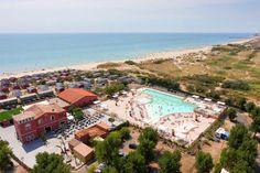 Strandcamping Camping Beach Garden in Marseillan Plage - Frankrijk - te boeken op ViaLora.nl
