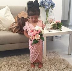 Pia Gladys Perey Perth does flower girls. Pia Gladys Perey Dresses available in Perth at Nora and Elle Bridesmaids.