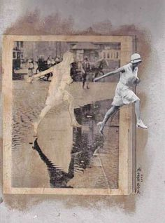 javier serna collages
