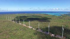 Le premier Parc #Éolien de l' #IleMaurice a une puissance totale de 9,35 mégawatts #ÉnergieÉolienne