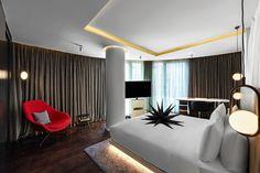 Luxury Hotel in Soho, London Soho Hotel, London, Star, Bedroom, Luxury, Table, Furniture, Home Decor, Decoration Home