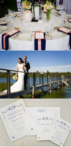 Cape Cod Wedding by Ashley O'Dell Photography + Couture Parties | Style Me Pretty