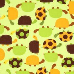 Amazon.com: Robert Kaufman Urban Zoologie Turtles Bermuda Fabric Yardage: Arts, Crafts & Sewing