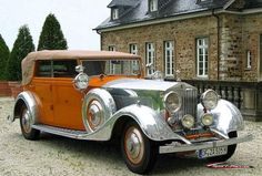 Star of India the famous 1934 Rolls Royce
