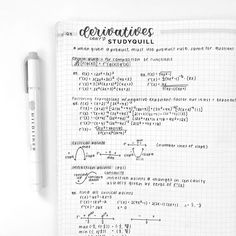 wingardium leviosa - days of productivity ⋅ friday march 30 2018 Math Notes, Class Notes, Calculus Notes, School Organization Notes, Study Organization, College Notes, Nice Handwriting, School Study Tips, Pretty Notes