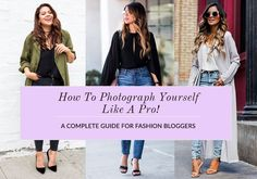 How To Photograph Yourself Like A Pro! #sewing #crafts #handmade #quilting #fabric #vintage #DIY #craft #knitting