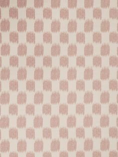 Ikat check pattern 02604 in Blush from the Jaclyn Smith Home - Volume III collection.