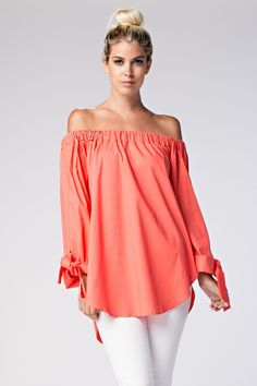 bee2d94d6a867 Must Have off the Shoulder Top with Tie Bohemian Tops
