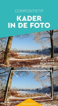 Compositietip voor landschapsfotografie: gebruik een kader in de foto. Hier zijn de bomen en takken een mooie omlijsting voor de landschapsfoto. In het artikel vind je meer fotografietips voor het gebruik van een kader in je compositie, bij verschillende