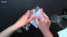 """Татьяна Кудрявцева. """"Бокалы. Матирование стекла. Роспись в технике двойного мазка"""""""