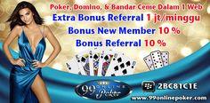 Live Poker Terpercaya - Raih kemenangan berlimpah di 99onlinepoker dengan proses deposit dan withdrawnya yang sangat cepat juga kemurahan depositnya hanya 10rb.