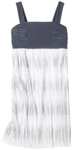 Paperdoll Girls 7-16 Printed Crystal Pleated Dress $15.95