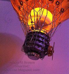 Steampunk Airship Balloon