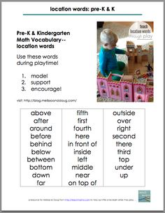 teach kids location words through play: 3 steps