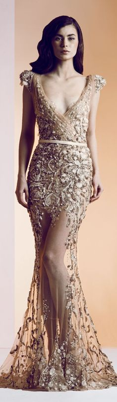 In what realm would I be able to afford or pull this off?! Ziad Nakad Haute Couture S/S 2014