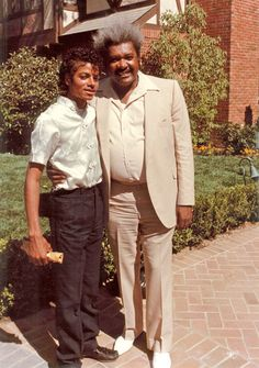 Michael Jackson and Don King